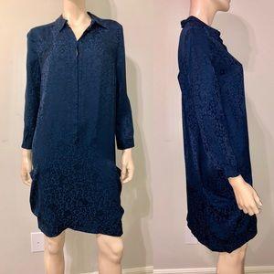 Matthew Williamson Navy LEOPARD-Jacquard Dress 10